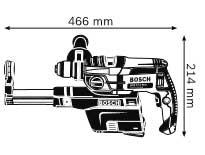 Габариты, Ударная дрель GSB 162-2 RE Professional