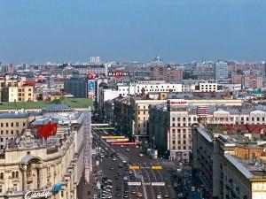 Перестройка Тверской Москва