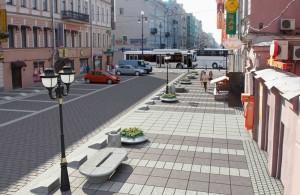 Столичные улицы в этом году будут благоустраиваться