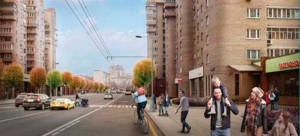 Типовой участок Таганской улицы Москва