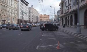 Театральный проезд, улицы Моховая, Манежная, Охотный Ряд в проекте моя улица
