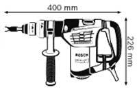 Габариты, Перфоратор с патроном SDS-plus GBH 4-32 DFR Professional