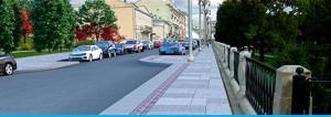 Улица Манежная после реализации программы благоустройства