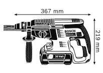 Габариты, Аккумуляторный перфоратор 36 В GBH 36 V-LI Professional