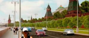 Кремлёвская набережная и Боровицкая площадь после реализации Моя улица