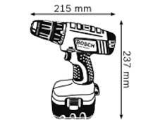Габариты, Аккумуляторный ударный гайковёрт 12 В GDR 12 V Professional