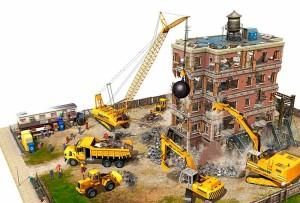 строительство в кризис