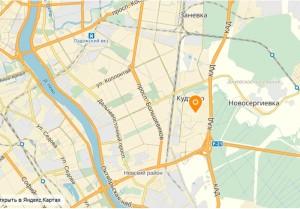 ЖК Вернисаж на карте