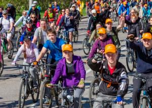 московского велопорада 2016