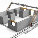 Печать зданий на 3D-принтере