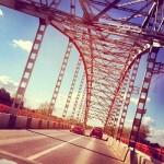 Мост через реку Клязьма в Химках