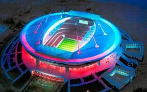 на стадионе Зенит-Арена