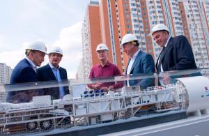 Собянин: Новая ветка снимет часть нагрузки с Таганско-Краснопресненской и Калининские линии метро