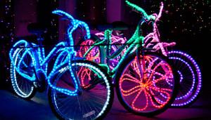 Второй ночной велопарад