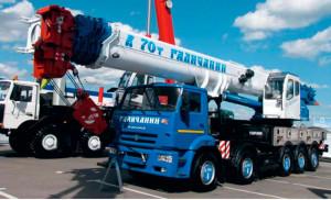 Автокран Галичанин КС-75721-1 грузоподъемностью