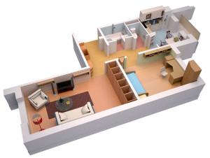Самые дешевые 2-комнатные квартиры