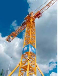 Новая модель башенного крана КБ-571Б