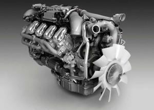 газовым двигателем V8