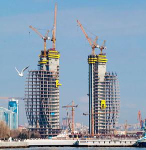 Liebherr строит символ Баку