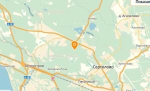 ЖК «Золотые купола» на карте