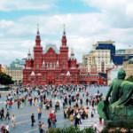 Туристический сезон в Москве