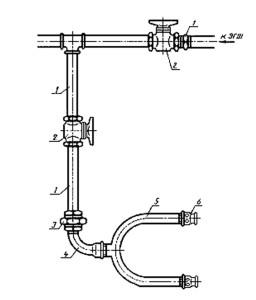 двухприточный клапан