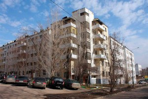 Снос конструктивистского квартала
