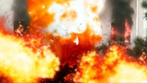 Взрыв бытового газа в Оренбурге.