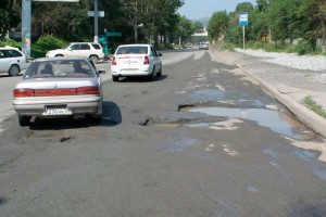 Дороги Владивостока