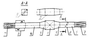 Испытательный стенд для измерения статического снижения шума