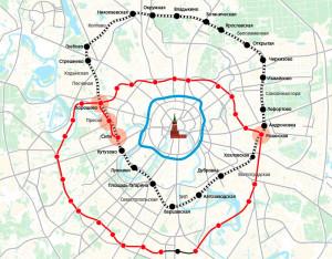 Малое кольцо железной дороги Москвы
