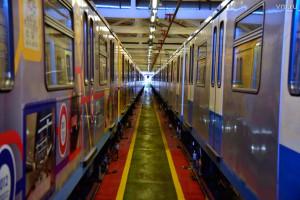 Новый поезд столичный подземки