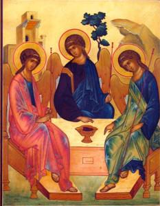 Новый храм Троицы Живоначальной