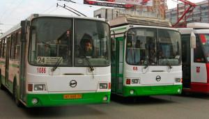 Ограничение общественного транспорта