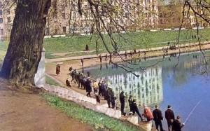 Красногвардейские пруды Москва