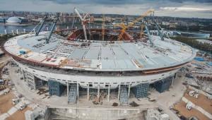 Строительство стадиона Зенит - Арена