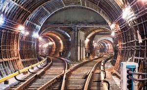 Возведение метро