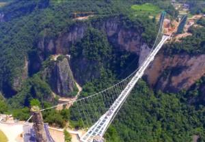 Самый длинный стеклянный мост, Китай