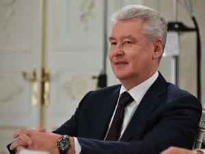 Сергей Собянин На месте самостроя в центре Москвы