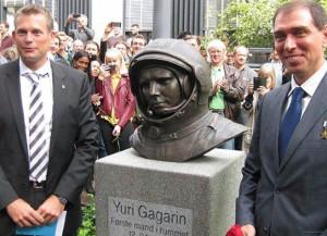 Бюст Юрия Гагарина установили в Датском техническом