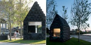 """В Амстердаме представили экспериментальную """"городскую хижину"""", напечатанную на 3D-принтере"""