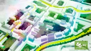 По одной из концепций, новый район должен стать дачным поселком нового поколения — своеобразным гибридом индивидуального и многоквартирного жилья. Это малоэтажные жилые дома (высотой до 5 этажей) с небольшими квартирами-студиями, к части которых, как в таун-хаусах, прилагается две сотки земли. Изюминкой района предлагается сделать фермерский рынок
