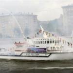Парад водной техники в Москве