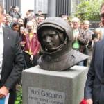 Памятник Юрию Гагарину в Дании