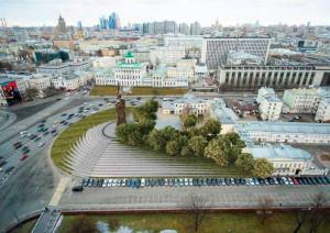 Памятник князю Владимиру начали устанавливать