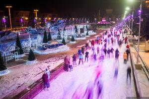 В Москве на ВДНХ сегодня открывается каток