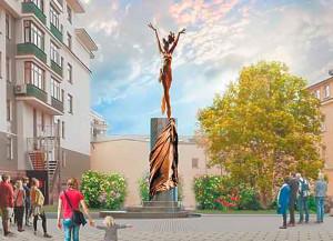 Памятник Майе Плисецкой