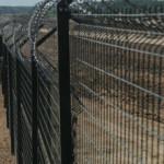 Забор между Латвией и Белоруссией