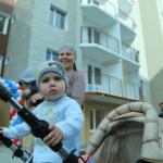 Обеспечение жильём семей очередников