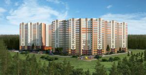 Строящийся ЖК «Успенский» расположен в Горках-10 на 24-м км Рублево-Успенского шоссе